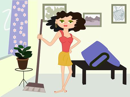 tareas domesticas para bajar de peso